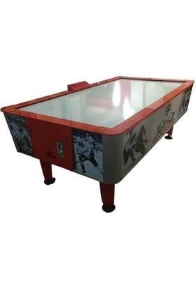 Pusula Oyun Profesyonel Hava Hokeyi Masası (Air Hockey Masası)