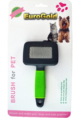Eurogold Kedi / Köpek Fırçası Small