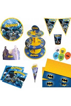Sihirli Parti Batman Parti Seti 16 Kişilik