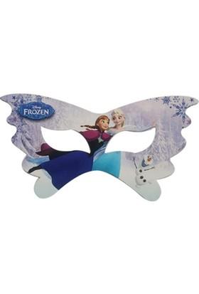 Sihirli Parti Frozen Karlar Ülkesi Maske (8 Adet)