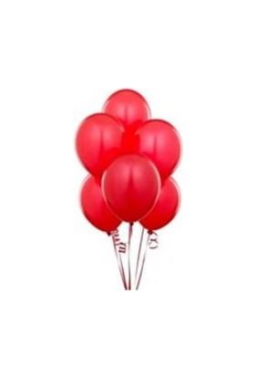 Sihirli Parti Metalik Kırmızı Balon