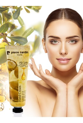 Pierre Cardin Argan Yağı Özlü E Vitaminli Nemlendirici El Kremi - 30 ML