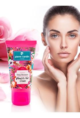 Pierre Cardin Deep Romance Çiçek Aromalı Keratin İçeren E Vitaminli Nemlendirici El Kremi - 50 ML