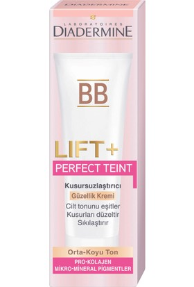 Diadermine Lift+BB Tüp Krem Orta Ton 50 ml