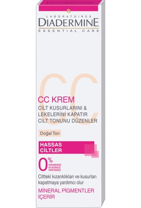 Diadermine High Tolerance CC Krem 50 ml