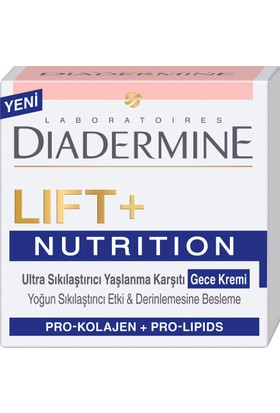 Diadermine Lift+Nutritive Gece Kremi 50 ml