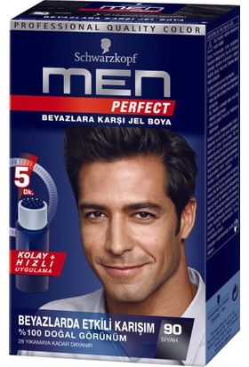 Men Perfect90 Siyah