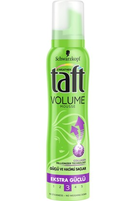 Taft Volume Köpük 150 ml