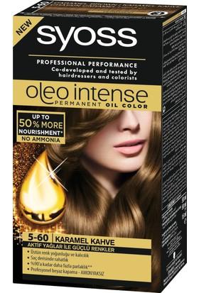 Syoss Oleo Intense Color 5-60 Karamel Kahve 50 Ml