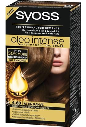 Syoss Oleo Intense Color 4-60 Altın Kahve 50 Ml