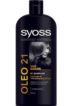 Syoss Oleo Şampuan 600 Ml
