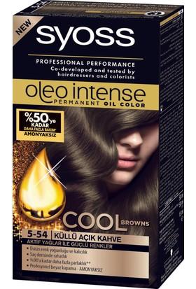 Syoss Oleo Intense Color 5-54 Küllü Açık Kahve 50 Ml