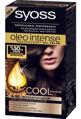 Syoss Oleo Intense Color 4-50 Büyüleyici Kahve 50 Ml