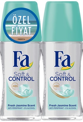 Fa Roll-On 2'Li Soft&Control 50Ml+50Ml