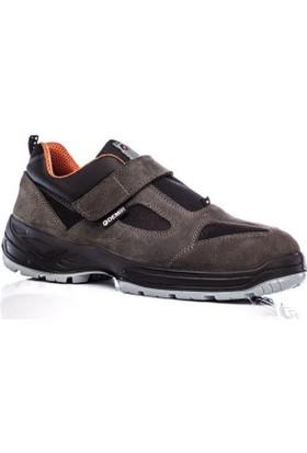 Demir Çelik Burunlu Suet Ayakkabı
