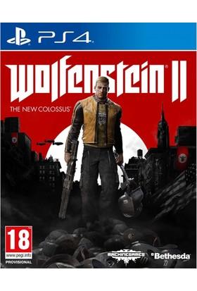 Wolfenstein Iı The New Colossus Ps4