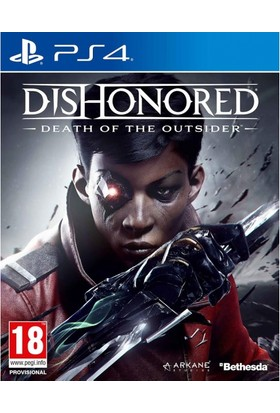 Dishonored Death Of The Outsider PS4 Oyun