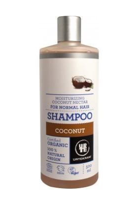 Urtekram Organik Şampuan - nem ve ışıltı için hindistan cevizi nektarı, ekonomik 500 ml.