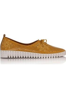 EsMODA Cc-2001 Sarı Kadın Günlük Ayakkabı