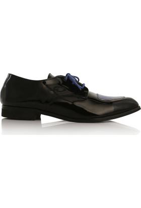 EsMODA Cc-2020 Siyah Mavi Kadın Günlük Ayakkabı