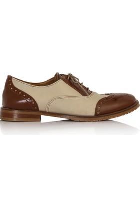 EsMODA Cc-2070 Taba Bej Kadın Günlük Ayakkabı