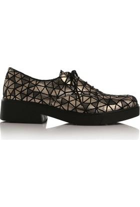 EsMODA Cc-400 Bronz Kadın Günlük Ayakkabı