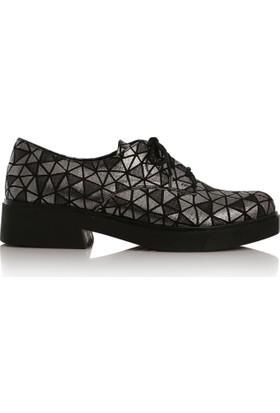 EsMODA Cc-400 Siyah Kadın Günlük Ayakkabı