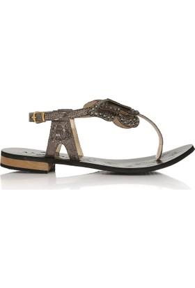 EsMODA Cc-6700 Füme Kadın Sandalet