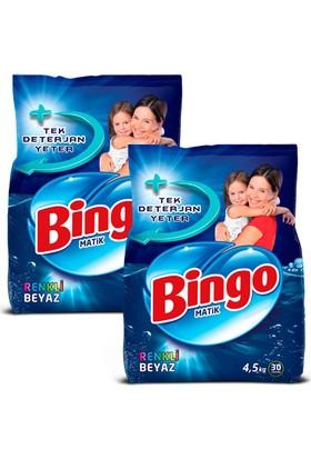 Bingo Matik Konsantre 4,5 kg Eko Renkli&Beyaz 2 Adet