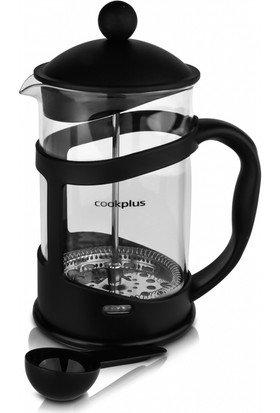 Cookplus Coffee Bean Siyah French Press 800 Ml