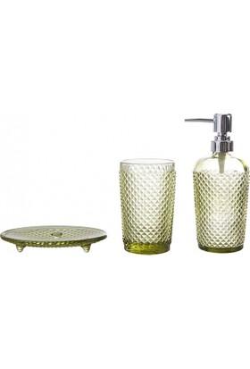Karaca Home Joy 3'lü Banyo Seti Yeşil