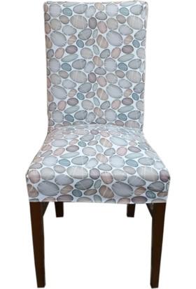 Akçağ Koltuk Örtüsü Sandalye Kılıfı Likralı Desenli Akvaryum