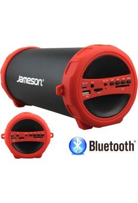 Jameson BT1300 USB Radyolu Bluetooth Kırmızı Hoparlör