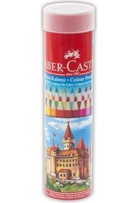 Faber Castell Metal Tüp Kuru Boya Kalemi 24'Lü 5173116524