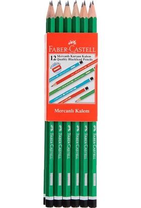 Faber-Castell Mercanlı Kurşun Kalem 12 Adet