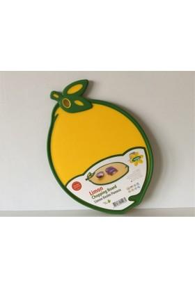 Tekreyonda Hobby Life Limon Şeklinde Kaydırmaz Kesim Panosu Kesme Tahtası