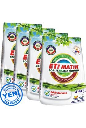 Etimatik 5 Kg Bor Temizlik Ürünü 4'lü Paket (20 Kg - Yeni Formül)