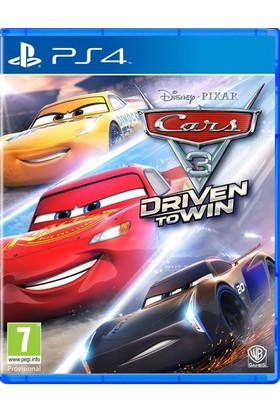 Cars 3: Driven to Win PS4 Oyun