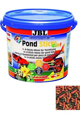 Jbl Pondsticks 4 İn 1 Japon Yemi 5.5 Litre-890 Gram
