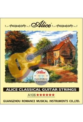 Alice A-106H Klasik Gitar Teli - 6 No Mi