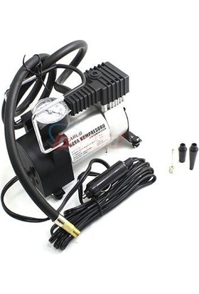 Nettedarikcisi Hava Kompresörü Metal 12V Işıksız Silver