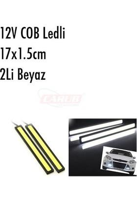 Nettedarikcisi Gündüz Farı Sis Lambası COB POWER LEDLİ Beyaz 2li 17cm