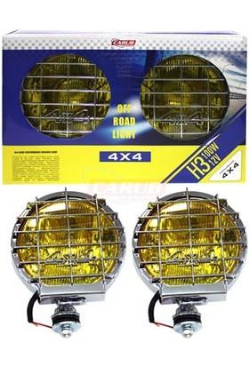 Nettedarikcisi Off Road Sis Lambası Sarı 4X4 Bosse 195mmX135mm JUMBO