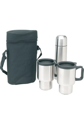 Montbell 4 Parça Outdoor Kamp Mug Termos Seti 423124