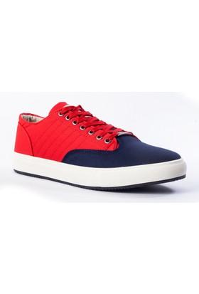 Carrano Erkek Ayakkabı 111221 Lacivert-Kırmızı
