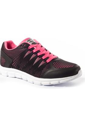 Viscon Kadın Ayakkabı 1665243 Siyah-Fuşya
