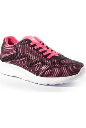 Viscon Kadın Ayakkabı 1669243 Siyah-Fuşya