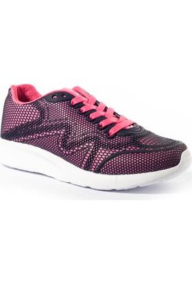 Viscon Kadın Ayakkabı 1669220 Lacivert-Fuşya