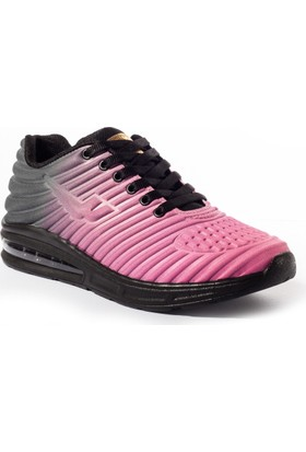 Viscon Kadın Ayakkabı 1675243 Siyah-Fuşya