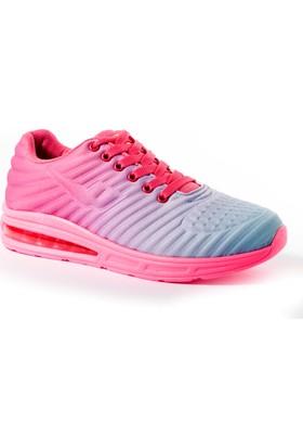 Viscon Kadın Ayakkabı 1675209 Fuşya-Mavi